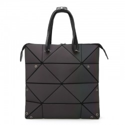 Fashionable geometric luminous bag - resizable