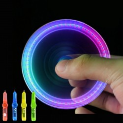 Rotating spinning toy - LED luminous pen - anti-stress - kinetic