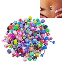 30 pieces - belly-bars - body piercing