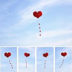 Heart Shaped Kite - Nylon