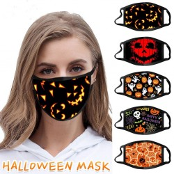 Protective face / mouth mask - windproof - dustproof - Halloween print