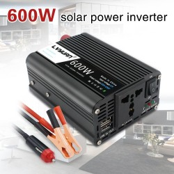 1000W - USB Power Inverter - DC 12V to AC 220V - Car inverter
