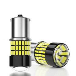 1156 BA15S P21W - BAU15S PY21W - T20 7440 - T20 7443 - LED Canbus - 78SMD