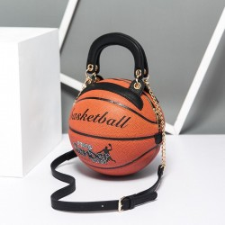 Basketball shaped - shoulder bag - women