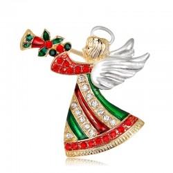 Christmas Brooch Pins - Angel