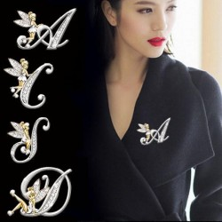 English Letters - Angel - Brooches
