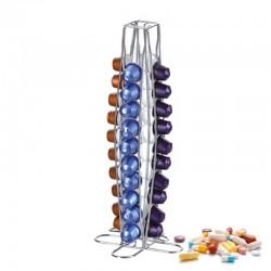 40 Nespresso coffee capsules holder - tower stand