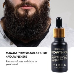Men - Beard - Growth Oil Kit - Enhancer - Beard Care