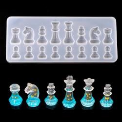 Silicone Mold - Resin - International Chess Shape - DIY