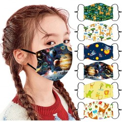 Kids face / mouth protection mask - breathable - cartoon print
