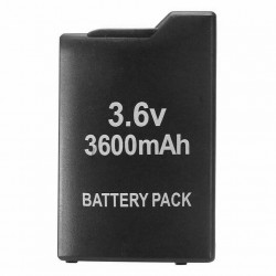 3.6V - 3600mAh - battery pack for PSP 1000 / 1001- rechargeable