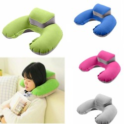 U-Shape - Travel Pillow - Inflatable - Neck Pillow