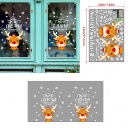 Merry Christmas Decoration - Window Sticker Ornaments - Santa Claus