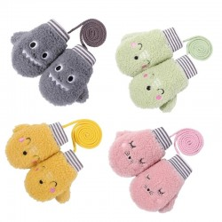 Toddler Gloves - Kids - Winter - Cartoon Animal