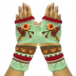 Knitted - Half-finger - Winter Gloves