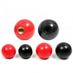 Red Black Copper - Ball Lever Knob - 2pcs