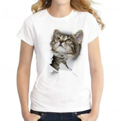 Harajuku T-Shirt - 3D - Cat