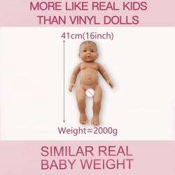 Silicone - Reborn Baby Girl - Realistic