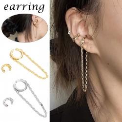 Ear cuff clip - metal - ear hook