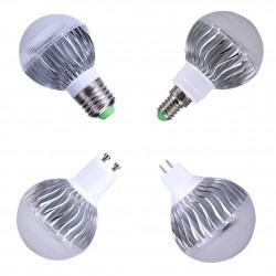 5W - RGB - E27 - GU10 - E14 - MR16 - LED bulb - remote controller - dimmer