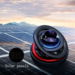 Solar levitation - rotating ornament - magnetic car decoration