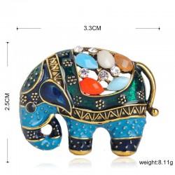 Thailand elephant brooch