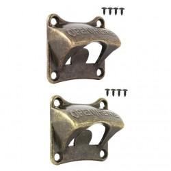 Wall mounted - cork screw - retro style