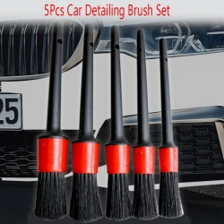 Car cleaning brush set - 5 pieces