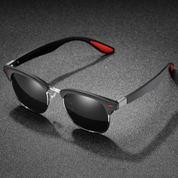 Retro polarized sunglasses - UV400 - unisex