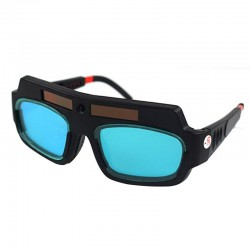 Solar powered - auto darkening - welding goggles - anti-shock lens - eye protection