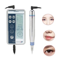 Permanent makeup - microblading MTS digital tattoo machine - set