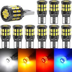 W5W - T10 - 12V - car LED Canbus bulb - 10 pieces