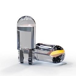 W5W 194 T10 - cob LED car bulb - 3000K - 6000K
