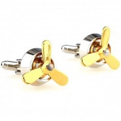 Propeller cufflinks - 2pcs