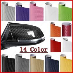 3D carbon fiber - vinyl car / motorcycle sticker - sheet roll