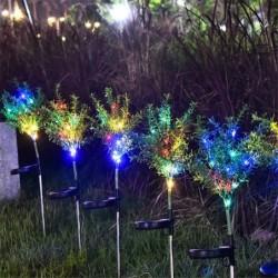 Lawn / garden light - lamp - solar powered - LED - waterproof - Christmas tree