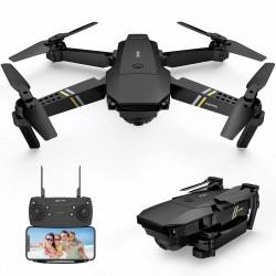FLYHAL E58 PRO - WIFI - FPV - 1080P HD Camera - Foldable - RC Drone Quadcopter - RTF