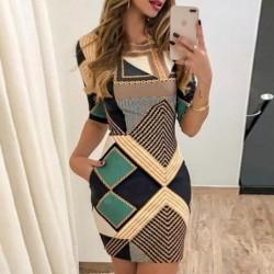 Fashionable short sleeve...