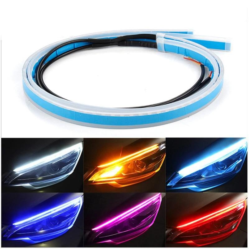 Car DRL lights - waterproof - flexible LED strip