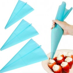 Silicone Reusable Cream Pastry Icing Piping Bag