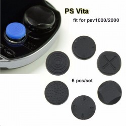 PlayStation PS Vita Silicone Buttons Analog Thumbstick Cover 6 pcs