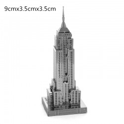 3D Empire State Building Metal DIY Puzzle Construction Kit |