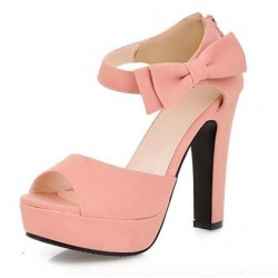Women's Ankle Strap Thick High Heel Sandals