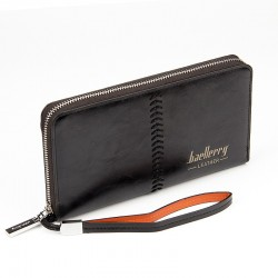 Luxury men's wallet - purse with strap