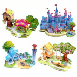 3D DIY Puzzle Jigsaw Baby Educational Toy