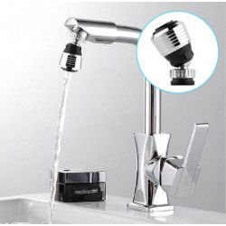 360 Rotate Faucet Nozzle Filter Adapter Water Saving Tap Aerator Diffuser