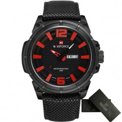 NAVIFORCE Fashion Casual Military Quartz Men's Watch