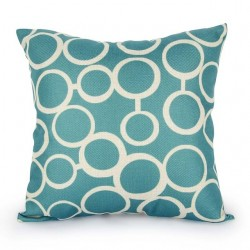 Scandinavian Style Pillowcase Cushion Cover Cotton 45 * 45cm