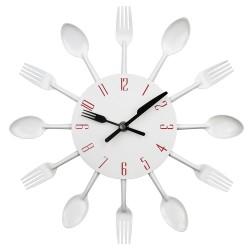 Cutlery Modern Kitchen Wall Clock