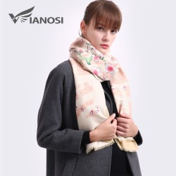 VIANOSI Luxury Wool Scarf Shawl
